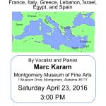 Mediterranean Music at MMFA