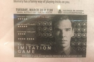 Science on the Screen: Imitation Game at The Capri