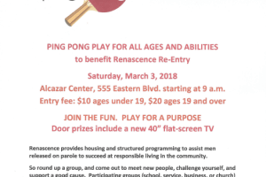 Playing Ping Pong and Helping Others