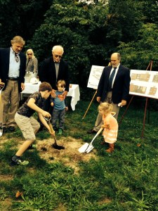 Groundbreaking with help from our little friends.