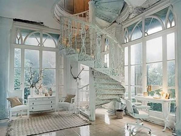 Den där trappan är bara så underbar