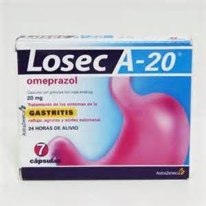 Losec medicamento omeprazol protector estómago