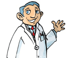 Médico gripe vacuna tamiflu