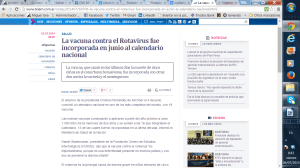 vacuna rotarix rotavirus