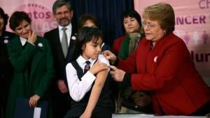 Bachelet Vacuna vph papiloma