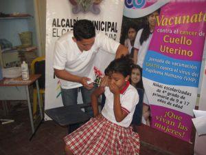 Carmen Bolívar vacuna vph