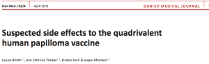 vacuna papiloma Dinamarca