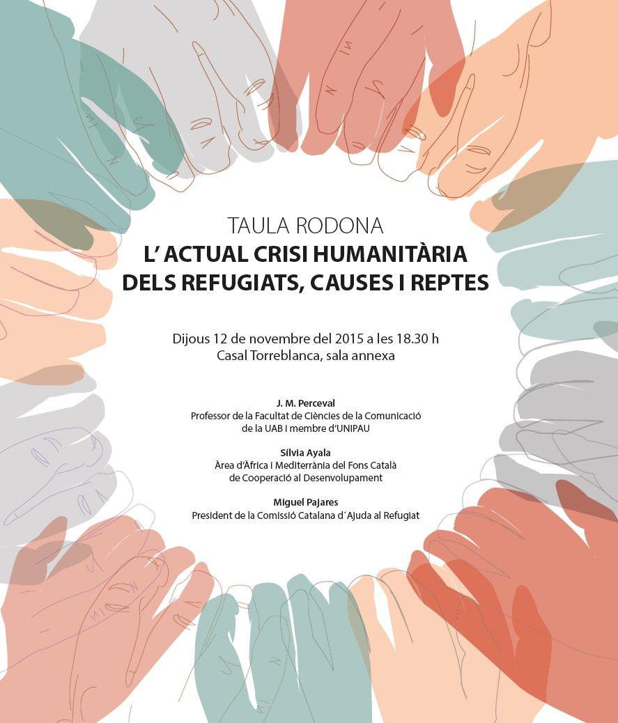 Debate sobre refugiados en Sant Cugat