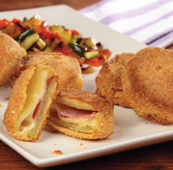 Sándwich de patatas