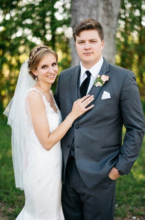 Real Bride Richmond Hill - Jillian & Rory | Mikaella Bridal
