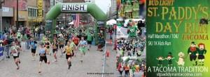 Paddys Day Run Tacoma