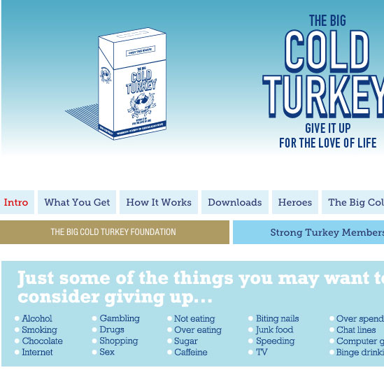 The Big Cold Turkey Ltd