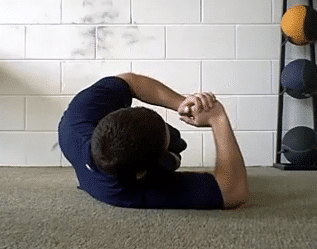 Sleeper Stretch Technique