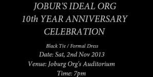 Jobur Ideal Org and GAG II