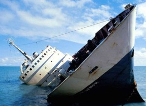 How Far The Freewinds Has Sunk