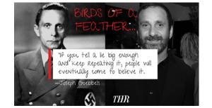 Scientology: Hollywood Reporter Writer Is Like Goebbels