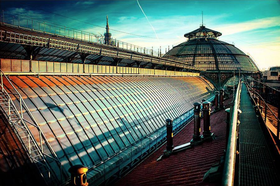 Galleria Vittorio Emanuele Milano Walkways - Что посмотреть в Милане. Неделя 4