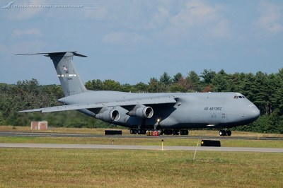 The Great New England Air Show 2012 - Travis C-5B Galaxy