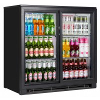 Back bar bottle coolers