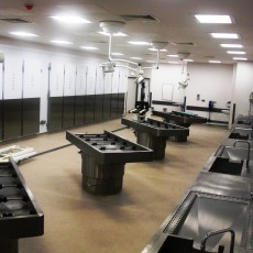 NHS pathology mortuary