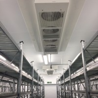 Slimline evaporators & internal lighting