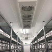 Slimline evaporators & internal lighting