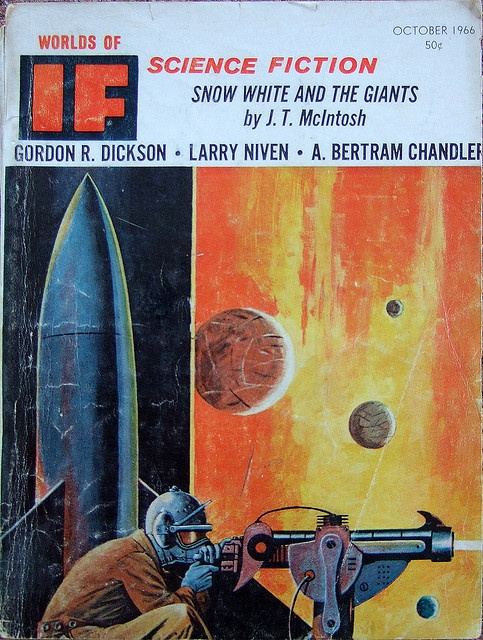 Rockets. Imaginary planets. Ray guns. Yep, it's science fiction.