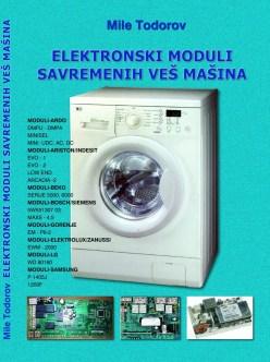 slika prednje korice knjige autora Mileta Todorova - Elektronski moduli savremenih veš mašina