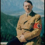 Adolf Hitler sitting personal portrait Berghof formal photo