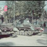 German victory parade in Warsaw