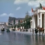 Hugo Jaeger-181 Rome at the time of Hitler's state visit to Italy in 1938.