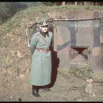 Unidentified at the Czech bunkers during the German invasion of Sudetenland