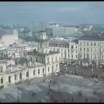 Warsaw, after the German bombardment. octomber 1939