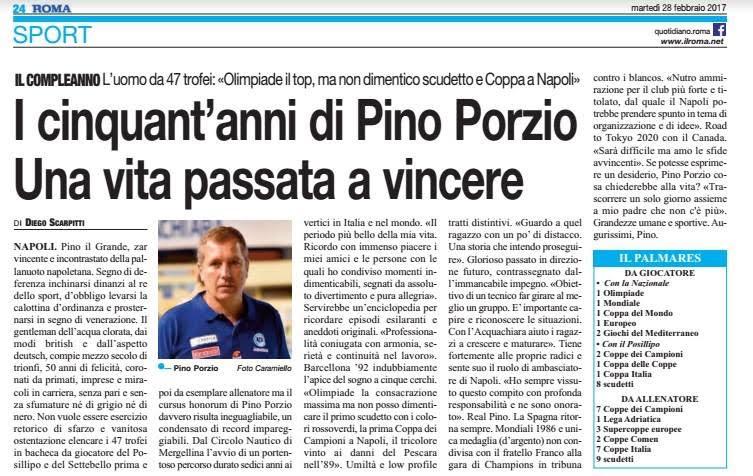 50 anni Pino Porzio (28 feffraio 2017)