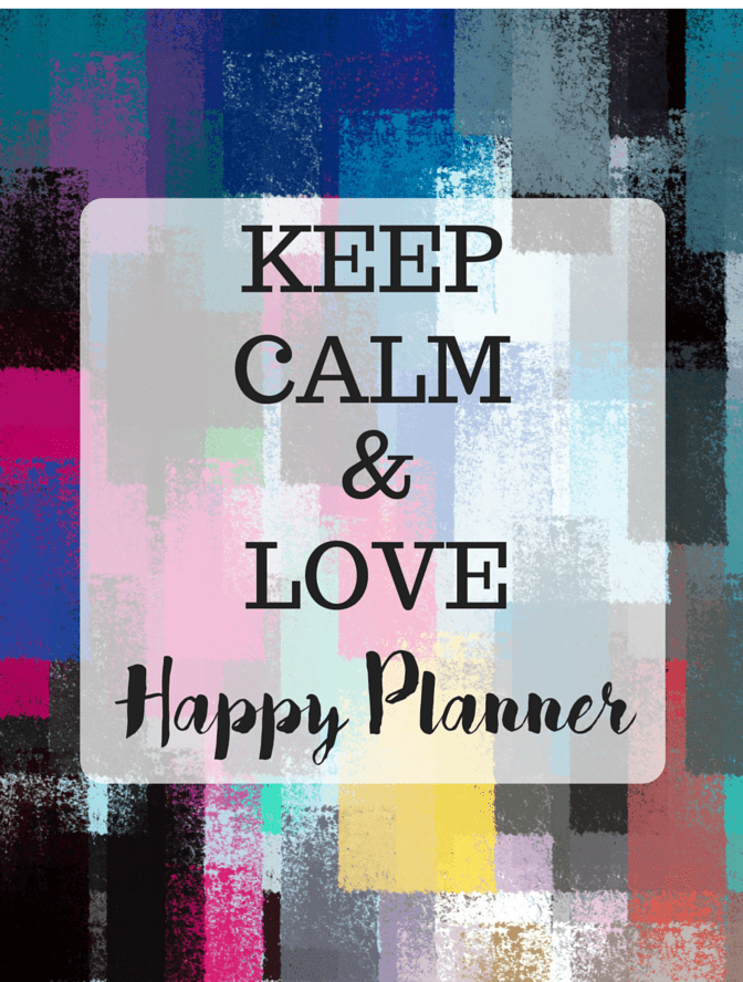 Fab Planner Fridays The Happy Planner Life millennialbeautysisters.com