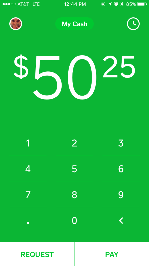 There are no fees, ever, with the CashApp. This was enough to sell me, but it gets better!