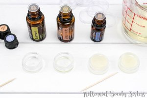 This DIY lip balm recipe is quick and easy. Essential oil lip balm is a great way to refresh your lips and avoid rough, cracked, or chapped skin!