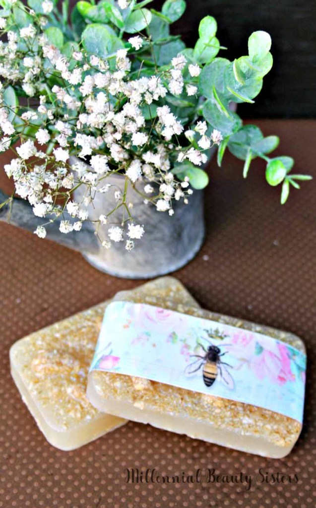 Making your own soap is easier than you might think and way less dangerous. This homemade oatmeal soap is nourishing, naturally exfoliating, and soothing for your skin. Try this DIY natural soap today!
