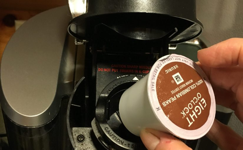 The Keurig in our Kitchen