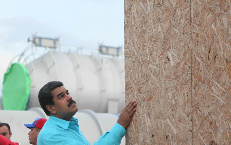 (FOTOS) Supervisión del proyecto de Conversión Profunda en Refinería de Puerto La Cruz