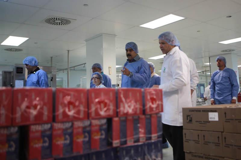 Reactivada Empresa de Producción Pro Fármacos en Mérida