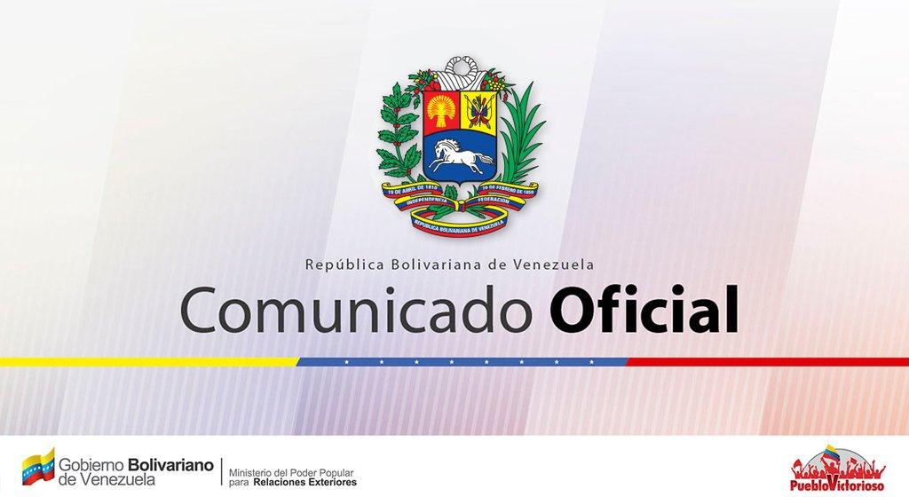 (COMUNICADO) Venezuela rechaza flagrante violación de Carta de la OEA por parte de Luis Almagro
