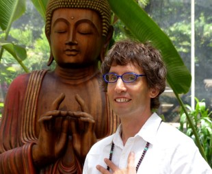 Michael Sandler-Headshot-Buddha-Sacred Garden