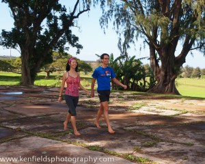 I spend as much time barefoot as possible, often taking leisurely walks with my wife, Jessica.
