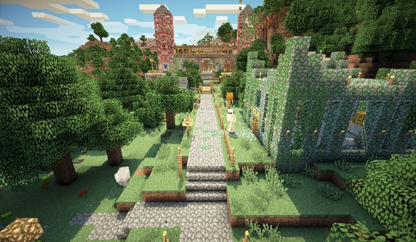 Mansion Adventure Map for Minecraft 1.8
