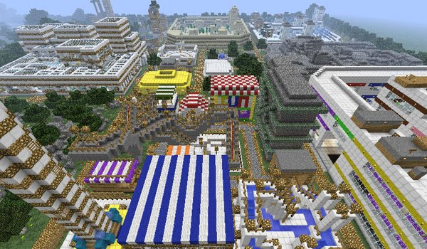 TPC Parkour Map for Minecraft 1.7.4