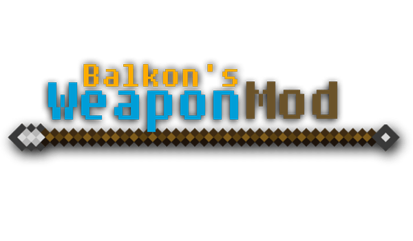 Weapon Mod for Minecraft 1.7.2 and 1.7.10