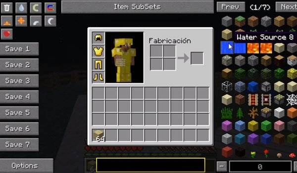 Not Enough Items Mod for Minecraft 1.7.10 and 1.7.2