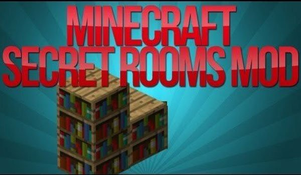 Secret Rooms Mod for Minecraft 1.7.2 and 1.7.10