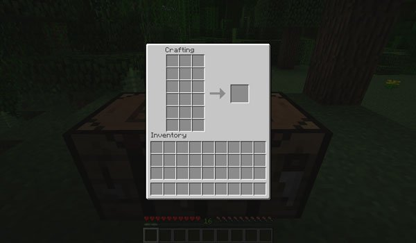 Extended Workbench Mod for Minecraft 1.7.2 and 1.7.10